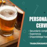 personal para cerveceria trabajo rosario
