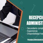 recepcionista administrativa trabajo rosario